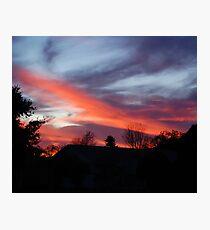 Kissimmee sunset Photographic Print