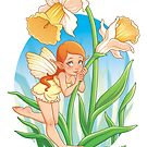 Daffodil Fairy by Destiny Lauritsen