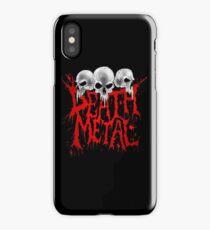 Death Metal iPhone Case