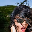 Windblown Darling by Amyn Nasser