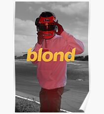 Full-Length Blond on Monochrome (8K resolution) Poster