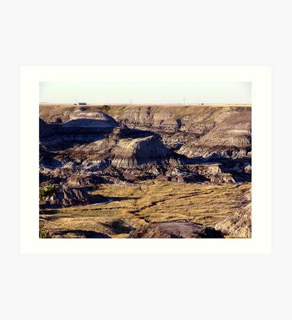Prairie Canyon Art Print