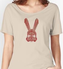 Red rabbit Women's Relaxed Fit T-Shirt