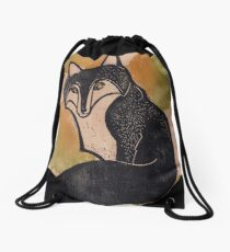 Foxy Fox Drawstring Bag
