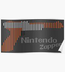 NES Zapper Line Art Poster