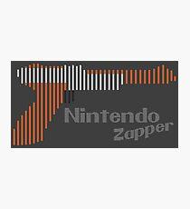 NES Zapper Line Art Photographic Print