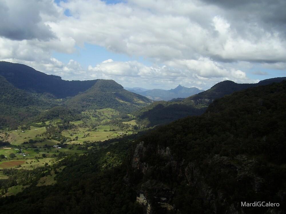 Mt Warning,  Nunimbah Valley, Davies Creek  Circuit. by MardiGCalero