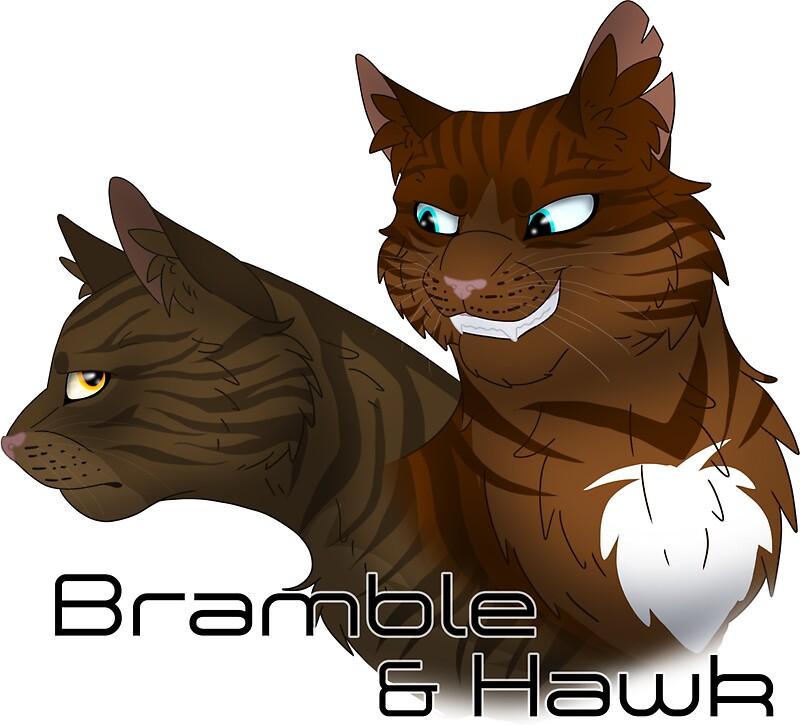 Warrior Cats Brambleclaw And Hawkfrost - 0425