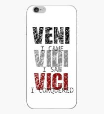Veni, Vidi, Vici #3 iPhone Case