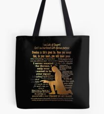 i never wanted Tote Bag