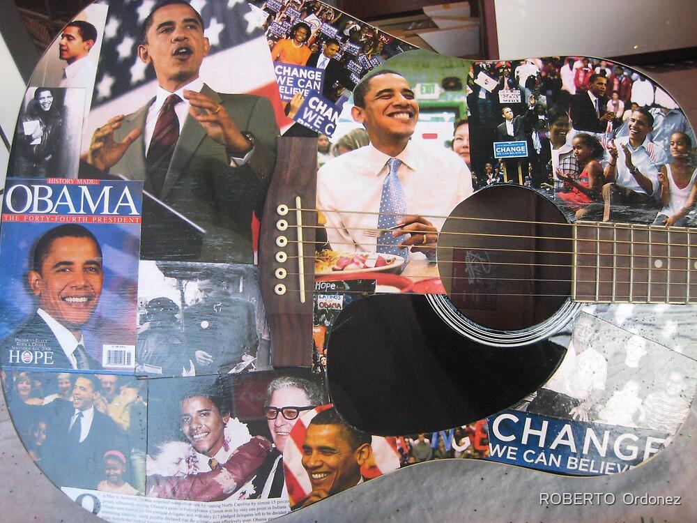 Obama  by Robert Ordonez