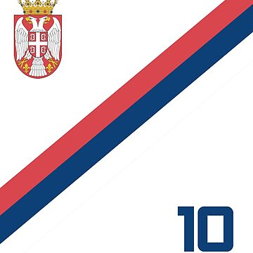 Serbia Jersey Shirt Soccer World Cup Serbian Futbol  by 7United