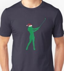 This Girl Loves Golf US Flag - Christmas Gift For Golf Lovers Unisex T-Shirt