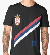Serbia Jersey Shirt Soccer World Cup Serbian Futbol  Men's Premium T-Shirt