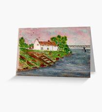 The Boathouse Inn Greeting Card