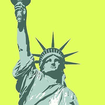 Liberty Statue by Kiwix