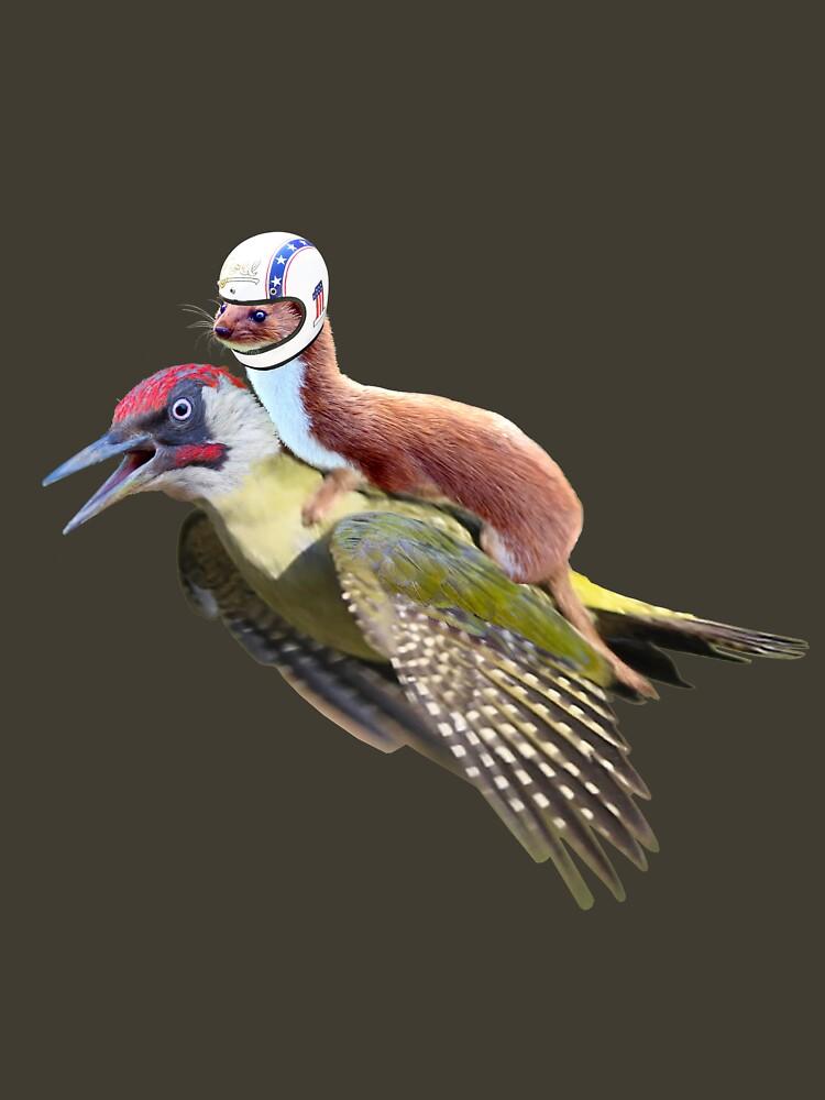 Flying Woodpecker Weasel Knievel Meme by worn