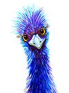 """Quirky Emu - """"Hi there!"""" by Linda Callaghan"""