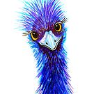 "Quirky Emu - ""Hi there!"" by Linda Callaghan"