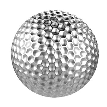 Golf ball by Kiwix