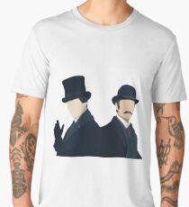 Sherlock Holmes and John Watson Men's Premium T-Shirt