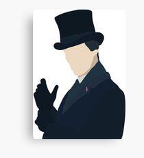 Sherlock Holmes, Christmas Special Canvas Print