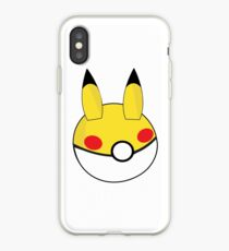 Pikachu Inspired Ball iPhone Case