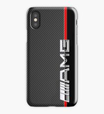 mercedes benz amg logo carbon iPhone Case/Skin