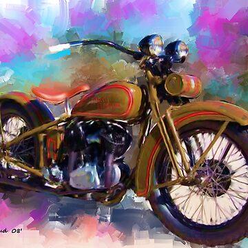 1930 Harley by ezcat