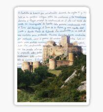 El Castillo De Loarre Sticker