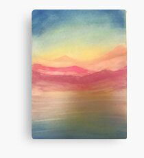 Let's travel Canvas Print