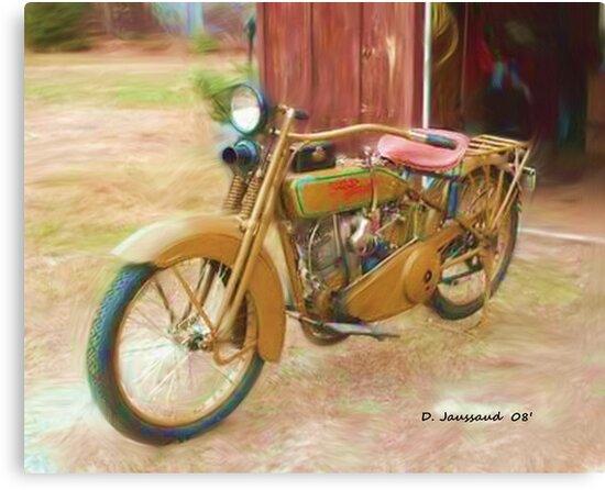1924 Harley by ezcat