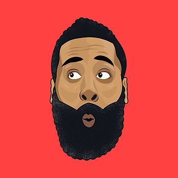 James Harden - The Beard by petervuart