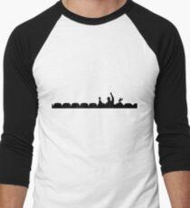 MST3K - Silhouette Men's Baseball ¾ T-Shirt