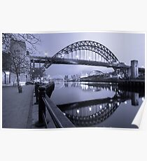 The Tyne Bridge, Newcastle Poster