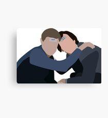 Sherlock Holmes and John Watson Bachelor Party Canvas Print