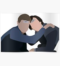 Sherlock Holmes and John Watson Bachelor Party Poster