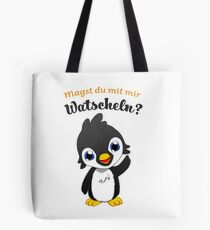 Do you like to waddle with me? Tote Bag