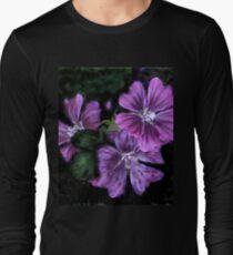 Althea Maritima Watercolour t-shirt Long Sleeve T-Shirt