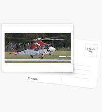 Ambulance Helecopter Postcards