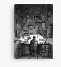 The Watchmaker Canvas Print