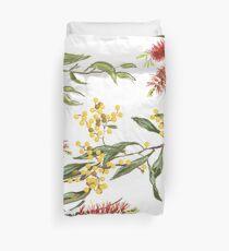 Australische Blumen Bettbezug