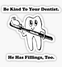 Dentist Filling Sticker