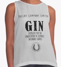 Gin Distilled For The Eradication of Sadness Sleeveless Top