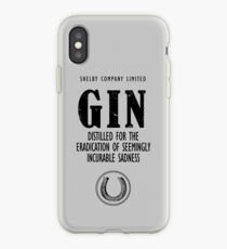 Gin Distilled For The Eradication of Sadness iPhone Case