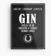 Gin Distilled For The Eradication of Sadness Metal Print