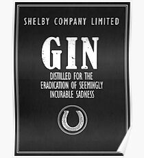 Gin Distilled For The Eradication of Sadness Poster