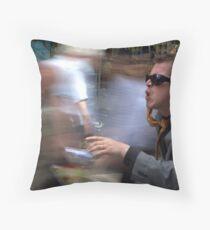 City rush Throw Pillow