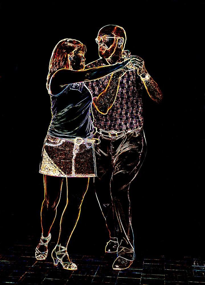 Salsa Dancers by Metrius