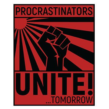 Procrastination united by ColioMango